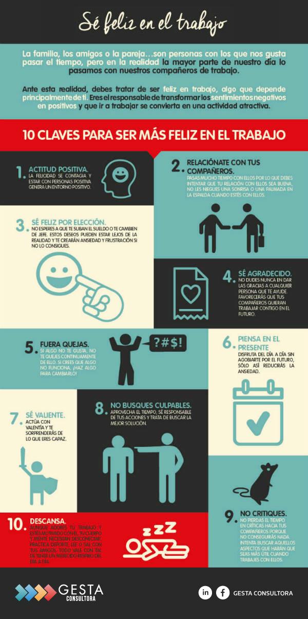 RRHH, Recursos Humanos, Feliciad en el trabajo, Felicidad Laboral, Ser mas feliz en el trabajo