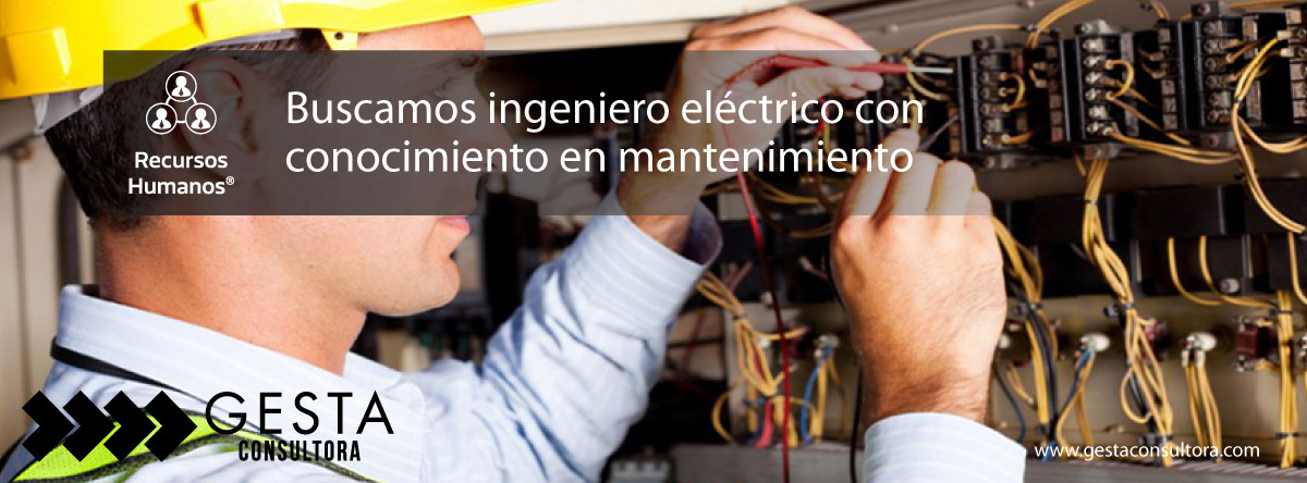 ingeniero electrico, mantenimiento, oportunidad laboral, recursos humanos, rrhh, córdoba,